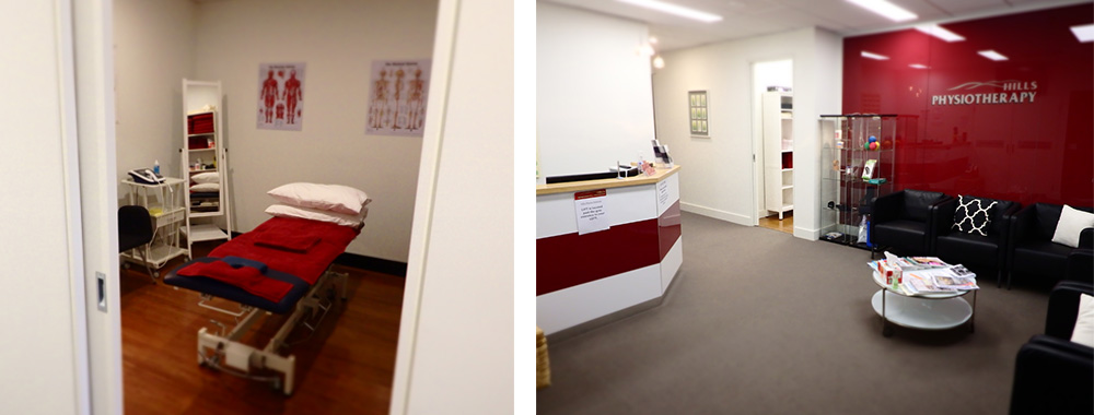 Hills Physiotherapy Rowville interior