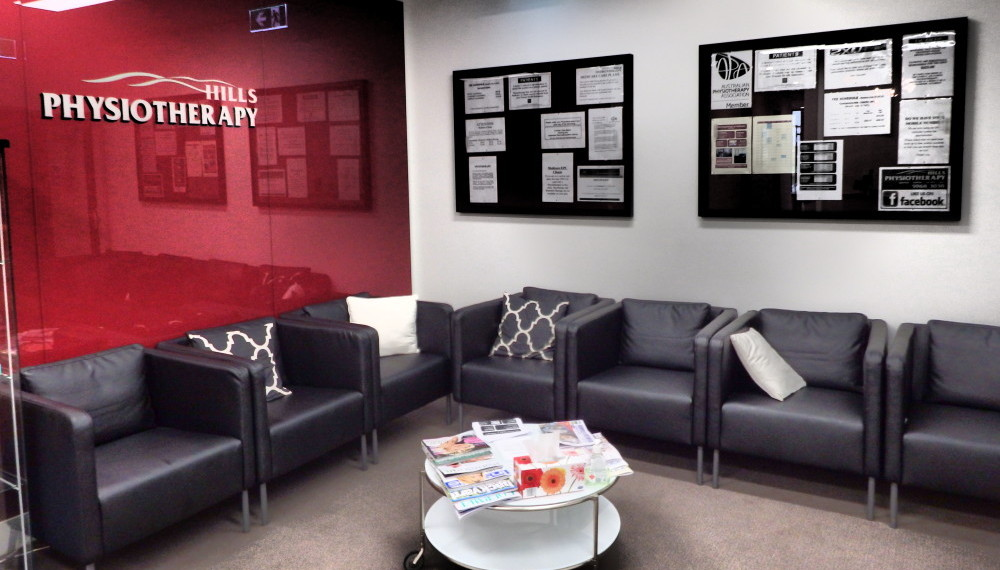 Rowville Physiotherapy Waiting Room